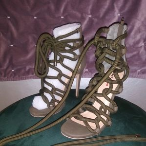 NEW Wild Pair cord lace up sandals